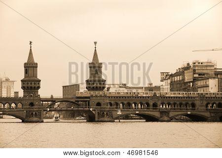 The Oberbaum Bridge