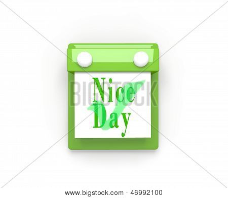 Nice day - Wall Calendar