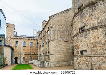 Oxford castle and former prison complex. Oxford Oxfordshire England poster