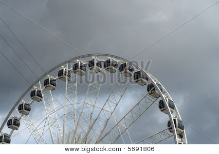 Ferris Wheel With Copy Space