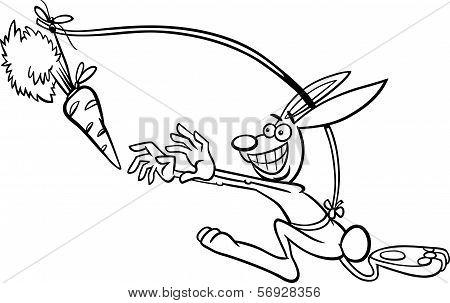 Dangling A Carrot Saying Cartoon