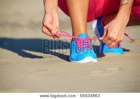Running Training Challenge Concept