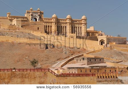 India, Amber Fort