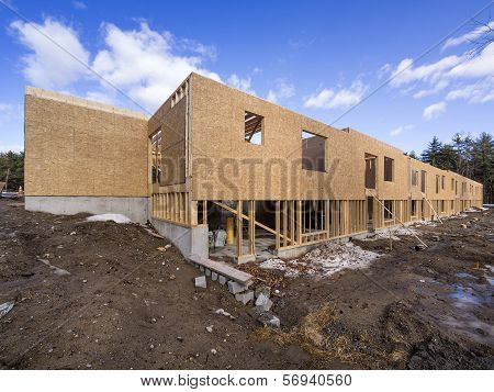 New framing construction of houses