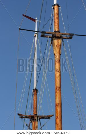 Two masts