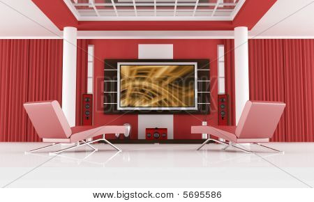 luxury cinema room