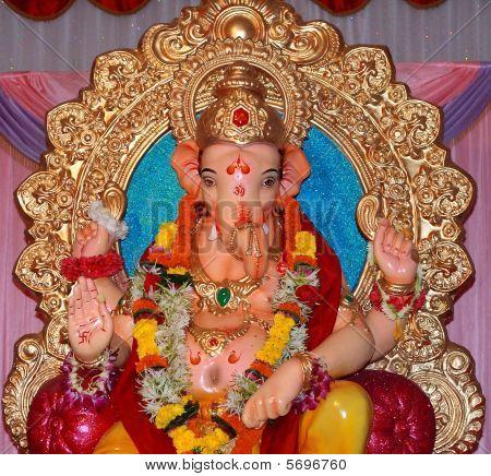 bunte Ganesha idol