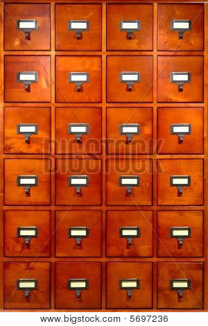 Drawer Library Cabinet