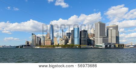 Beautiful view of New York City