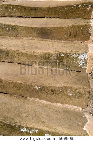 Worn Stone Steps