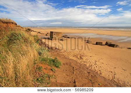 Fraisthorpe Beach, Yorkshire