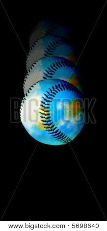 Catch it! Baseball Earth