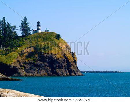 Lighthouse - Cape Disappointment Wa Usa