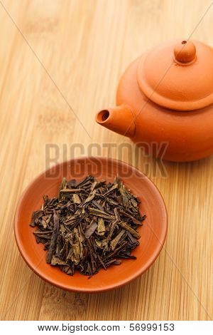 Chinese tea leave