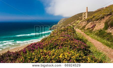 Wheal Coates Near St Agnes Cornwall