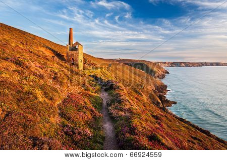 Wheal Coats Near St Agnes Cornwall