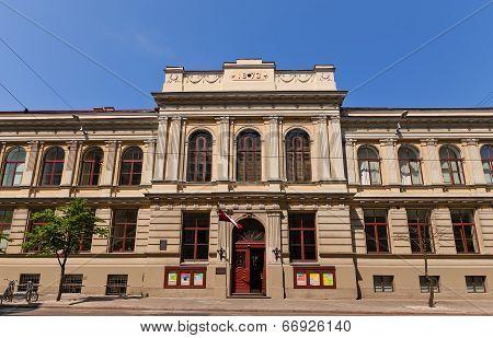 Jazeps Vitols Latvian Academy Of Music (1873) In Riga, Latvia