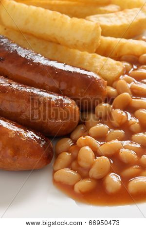 Sausage Beans And Chips
