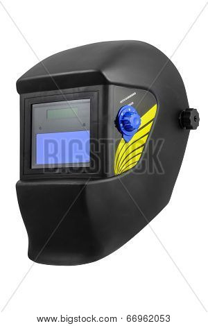 Automatic dimming welding mask