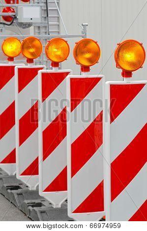 Roadworks Barrier