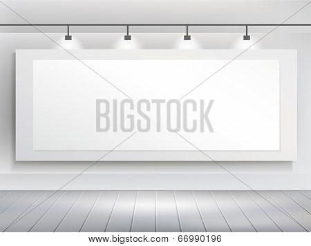 Vector 3D Blank Billboard Template