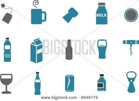 Drinking Icon Set
