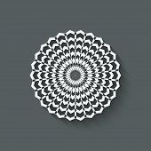 circular pattern design element - vector illustration. eps 10 poster