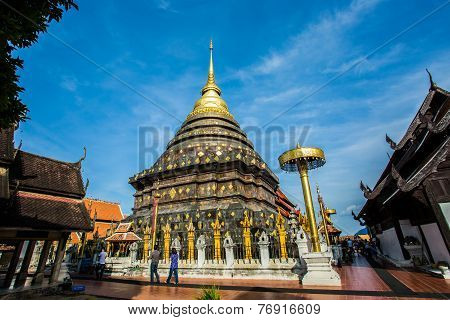 wat  phrataj lumpang luang   lumpang province Thailand.