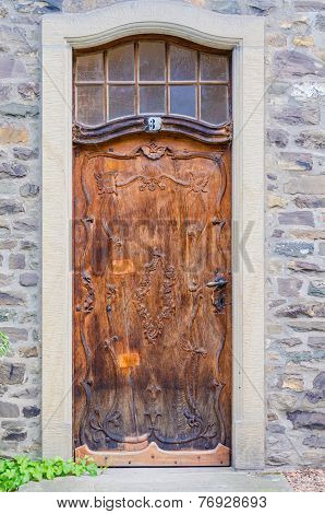 Old House Door
