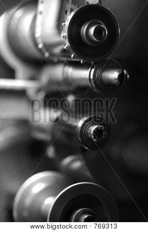 35mm Movie Projector Sprocket