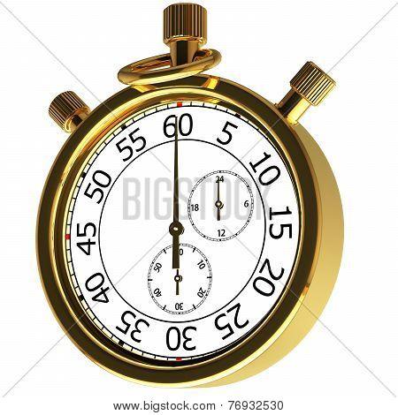 Gold Chronometer