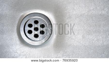 Round Plug Hole Closeup