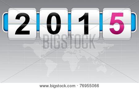New Year 2015, Invitation, World Fun