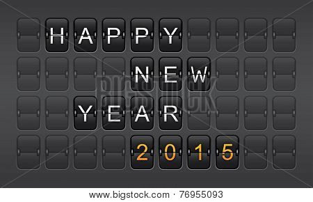 New Year 2015, Invitation, Countdown, Celebration