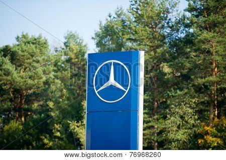 Mercedes-Benz dealership logo