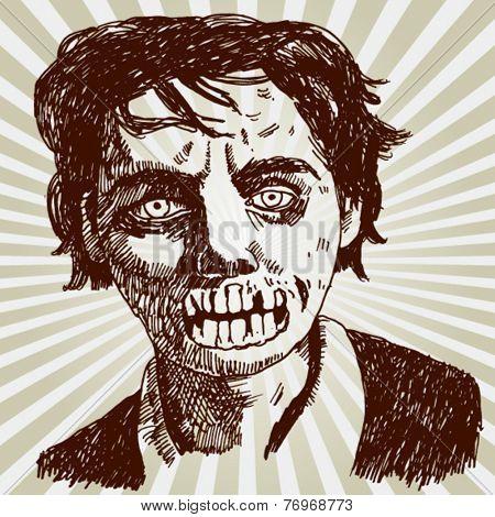 Portrait of Zombie