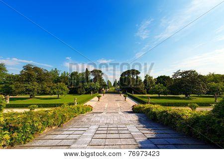 Garden Of Villa Emo - Fanzolo Treviso Italy