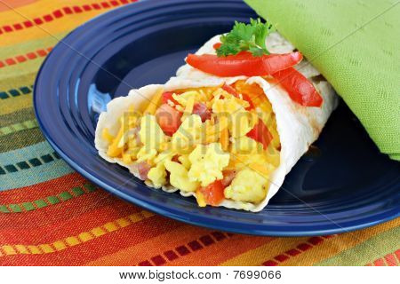 Breakfast Egg Burrito