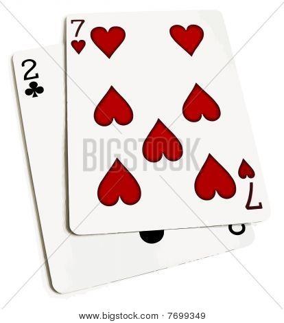 Worst Poker Hand