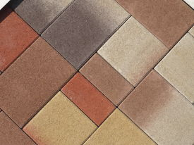 cast stone and floor tile pattern texture