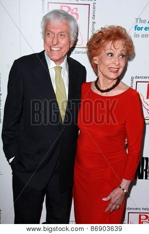 LOS ANGELES - MAR 29:  Dick Van Dyke, Carol Lawrence at the 28th Annual Gypsy Awards Luncheon at the Beverly Hilton Hotel on March 29, 2015 in Beverly Hills, CA