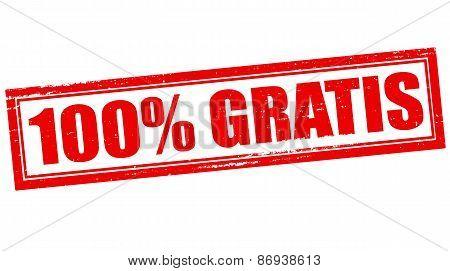 One Hundred Percent Gratis
