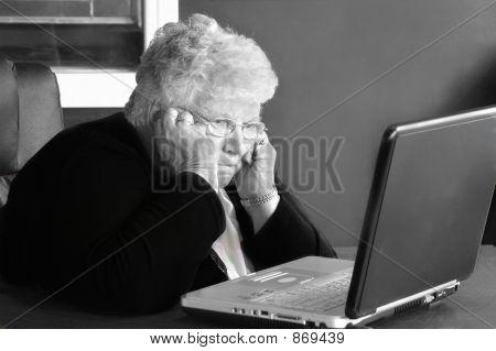 frustrated senior