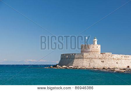Saint Nicholas Fort, Rhodes