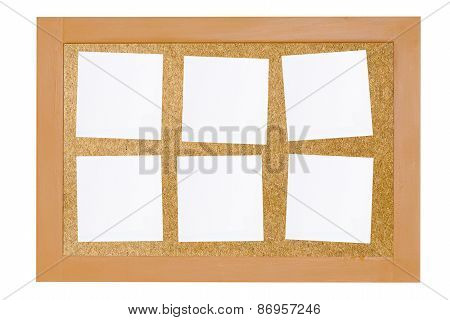 Notice Board And Blank Note