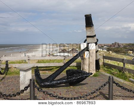 Norderney Anchor Memorial, Germany