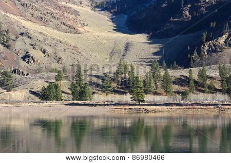 Spring on the Flathead River
