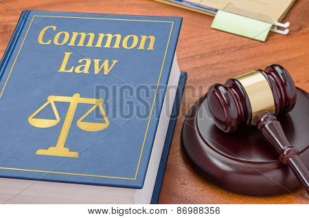 A Law Book With A Gavel - Common Law