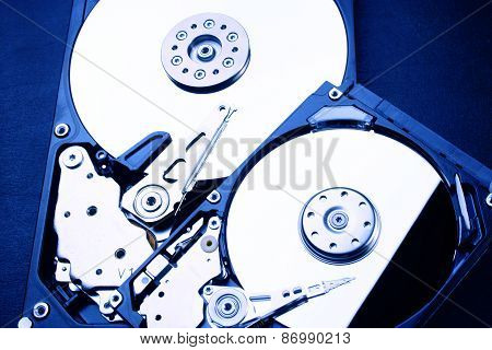 Hdd - Hard Disk Drive Is Open - 2,5
