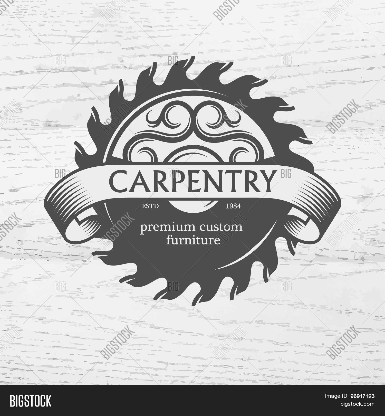 Carpenter Design Vector Photo Free Trial Bigstock